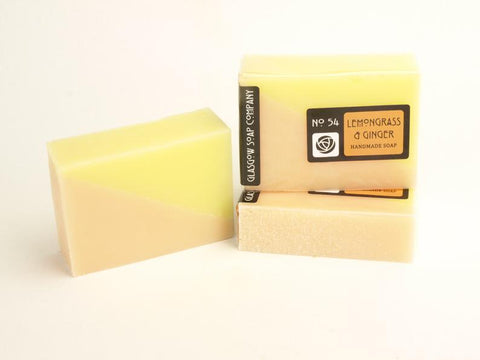 LEMONGRASS & GINGER Handmade Vegan Scottish Soap