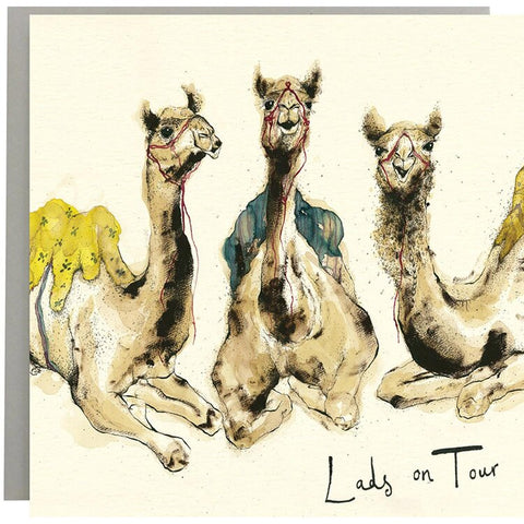 Lads on Tour Greeting Card