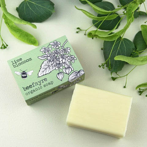 Lime Blossom Organic Soap Bar