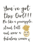 You've Got this Girl Mini Card