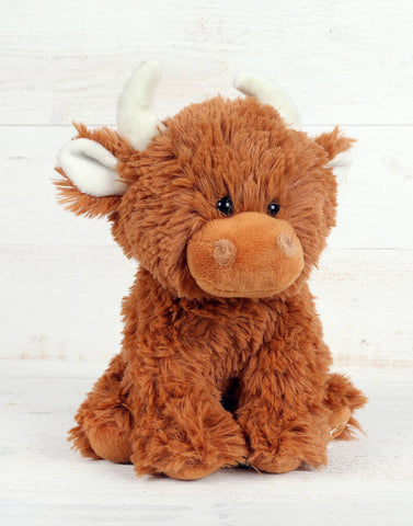 Small Highland Coo Cuddly Toy