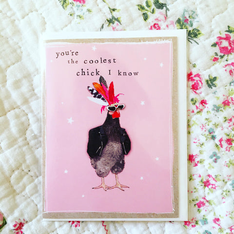Cool Chick Small Card
