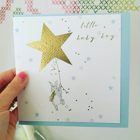 Little Baby Boy Card