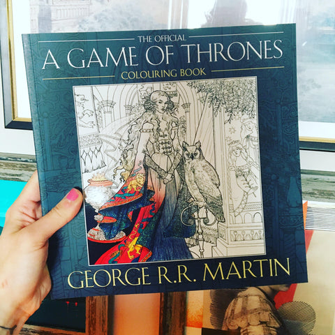 GAME OF THRONES COLOURING BOOK (OFFICIAL)