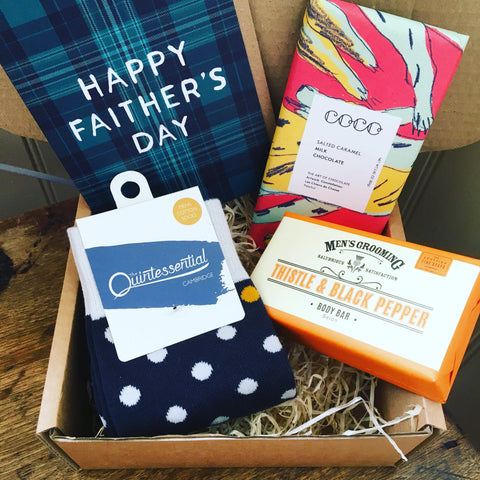 Scottish Fathers Day Gift Box