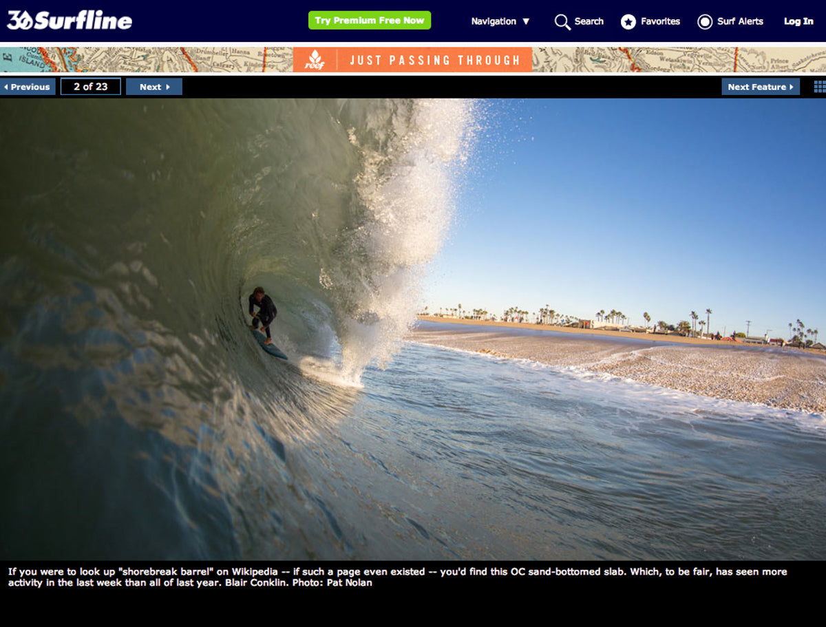 Blair Conklin Catch Surf Odysea Stump Surfline