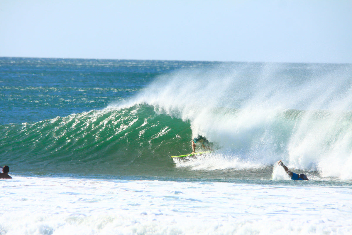Blair Conklin Catch Surf Odysea Stump soft surfboard clothing Nicaragua