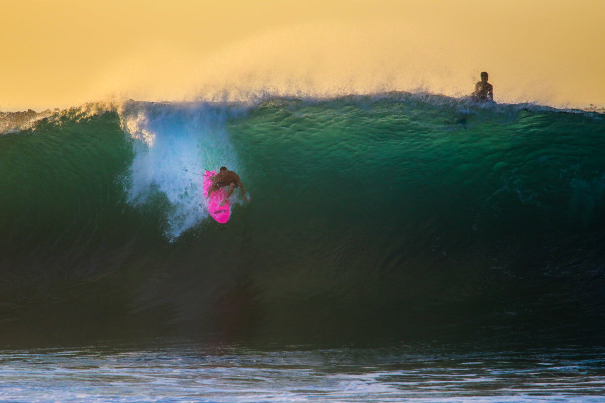 Jamie O wave of the day. Photo | Michael Latham
