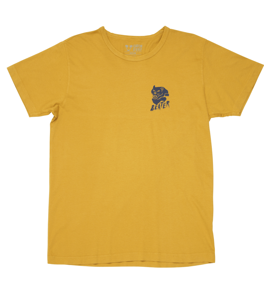 Beater Surf Club  S/S Tee - Gold