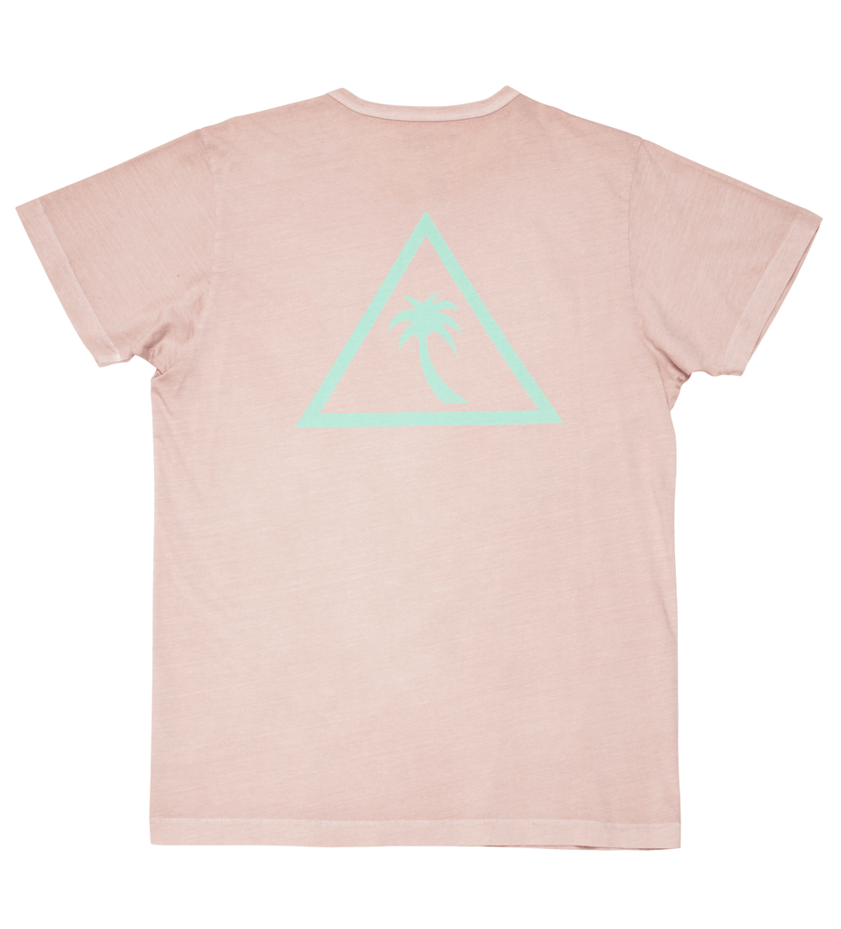 Team II S/S Tee - Tea Rose