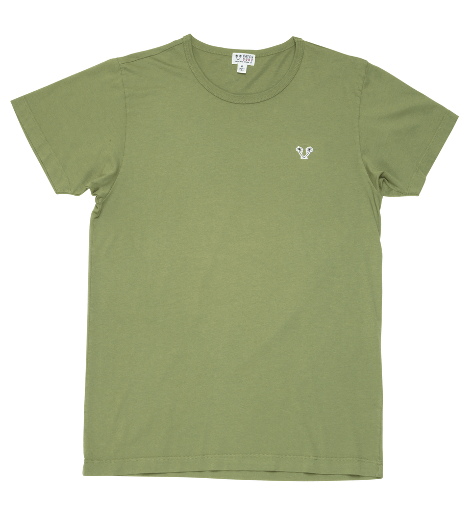 Heritage Top Shelf S/S Tee - Olive Green