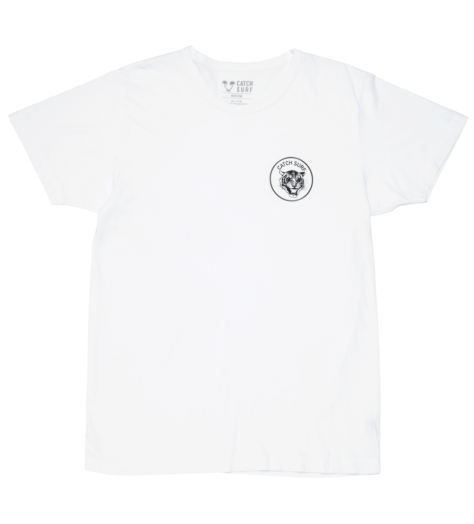 JOB Signature S/S Tee - White