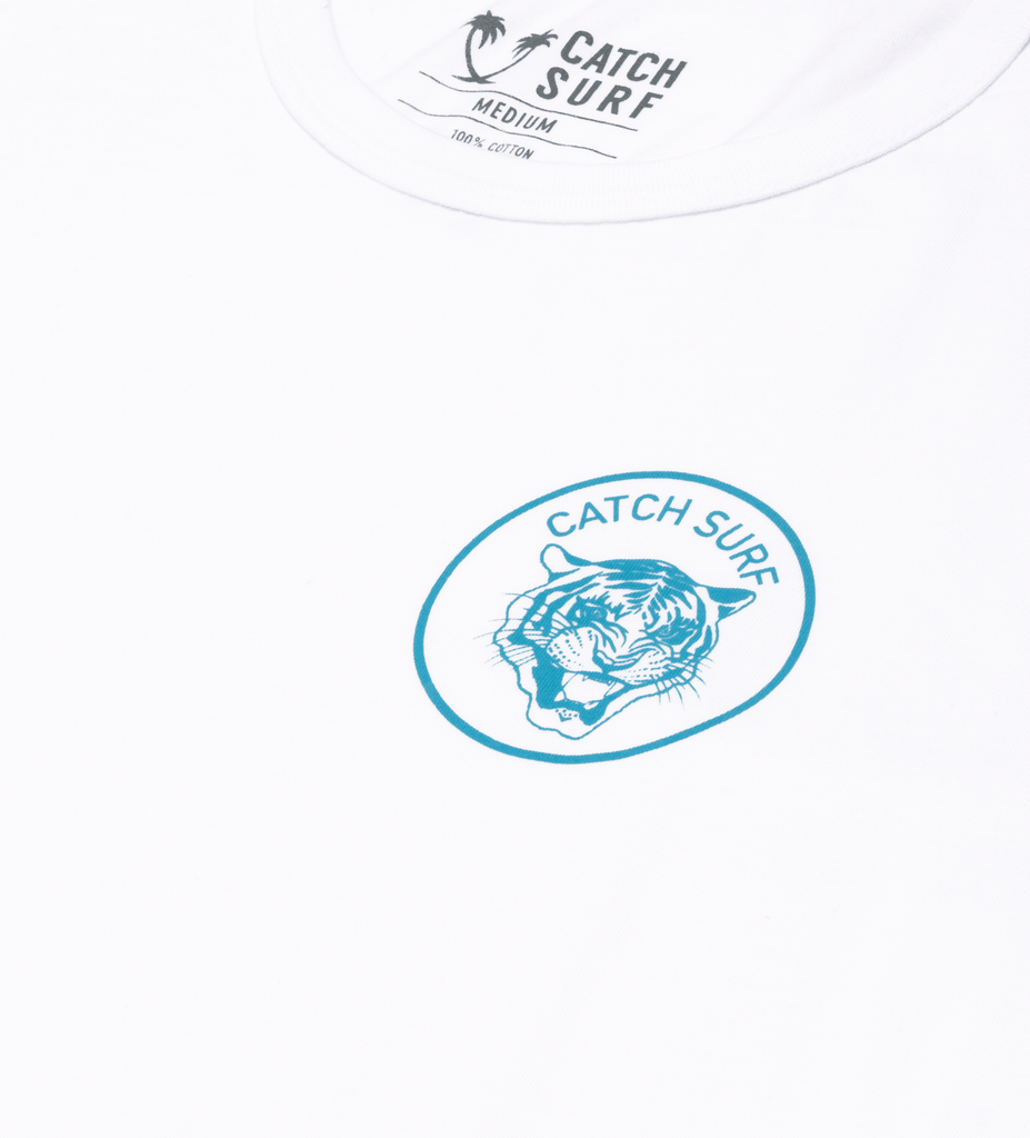 JOB Signature L/S Tee - White