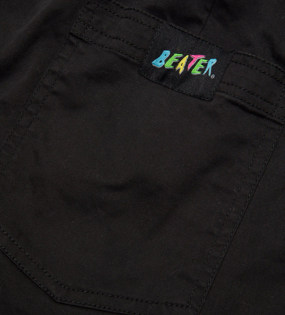 Beater Pant // Washed Black