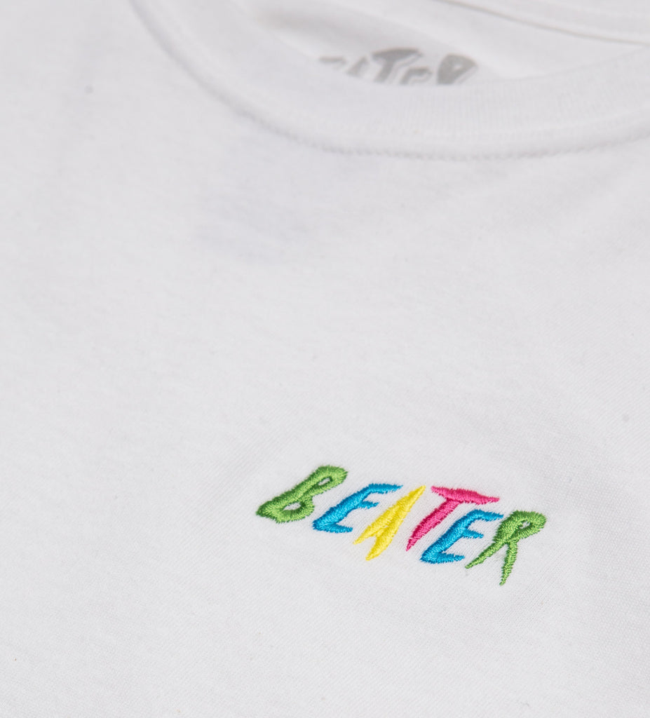 Beater S/S Embroidered Tee