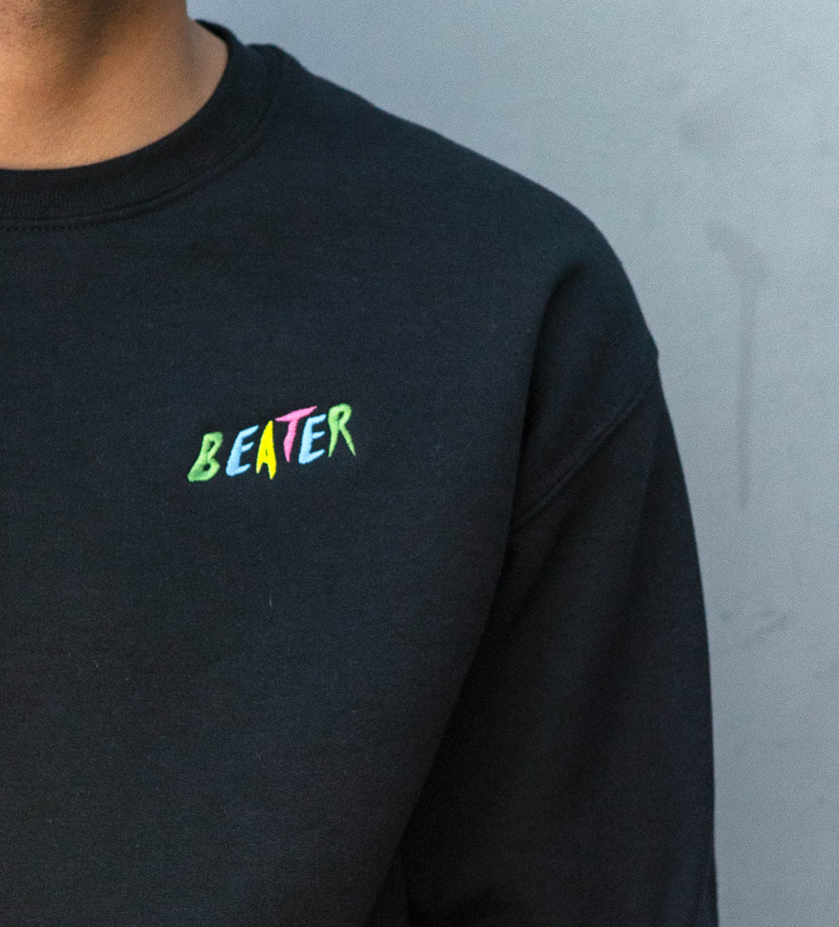 Beater Embroidered Crew Fleece