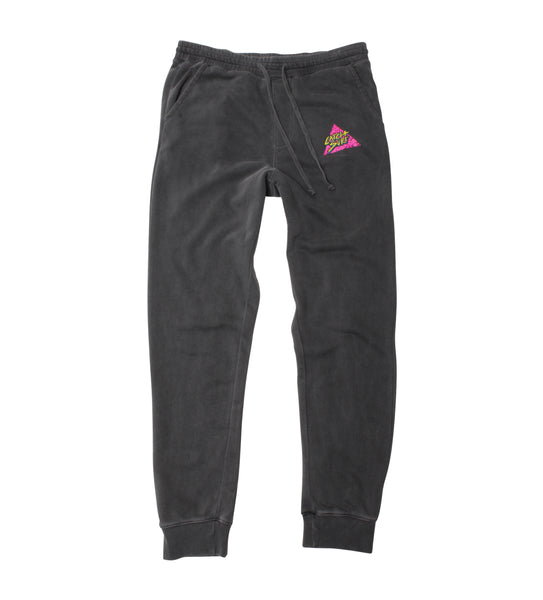 Triangle Slash Pigment-Dyed Sweatpant