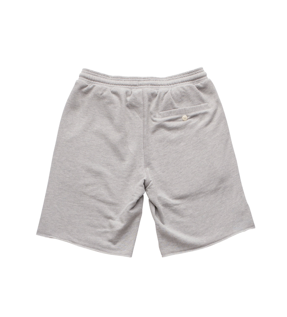 Boy's Semi-Pro Fleece Short - Heather Grey