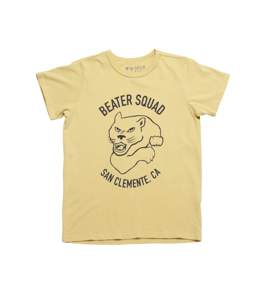 Boy's Beater Squad S/S Tee - Yellow