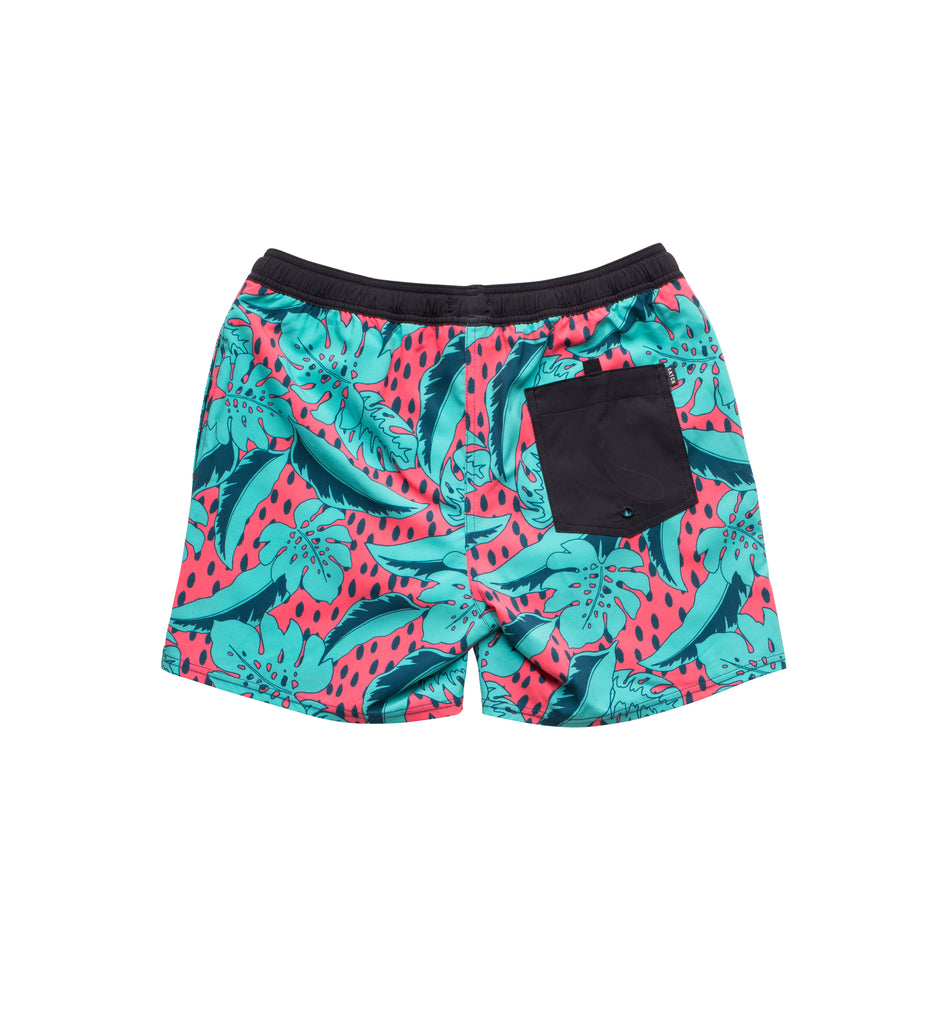 Boy's Perfect 10 Trunk - Coral