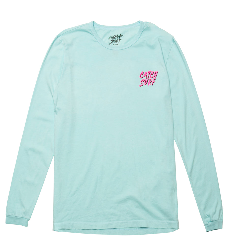 JOB Tiger L/S Tee - Seafoam