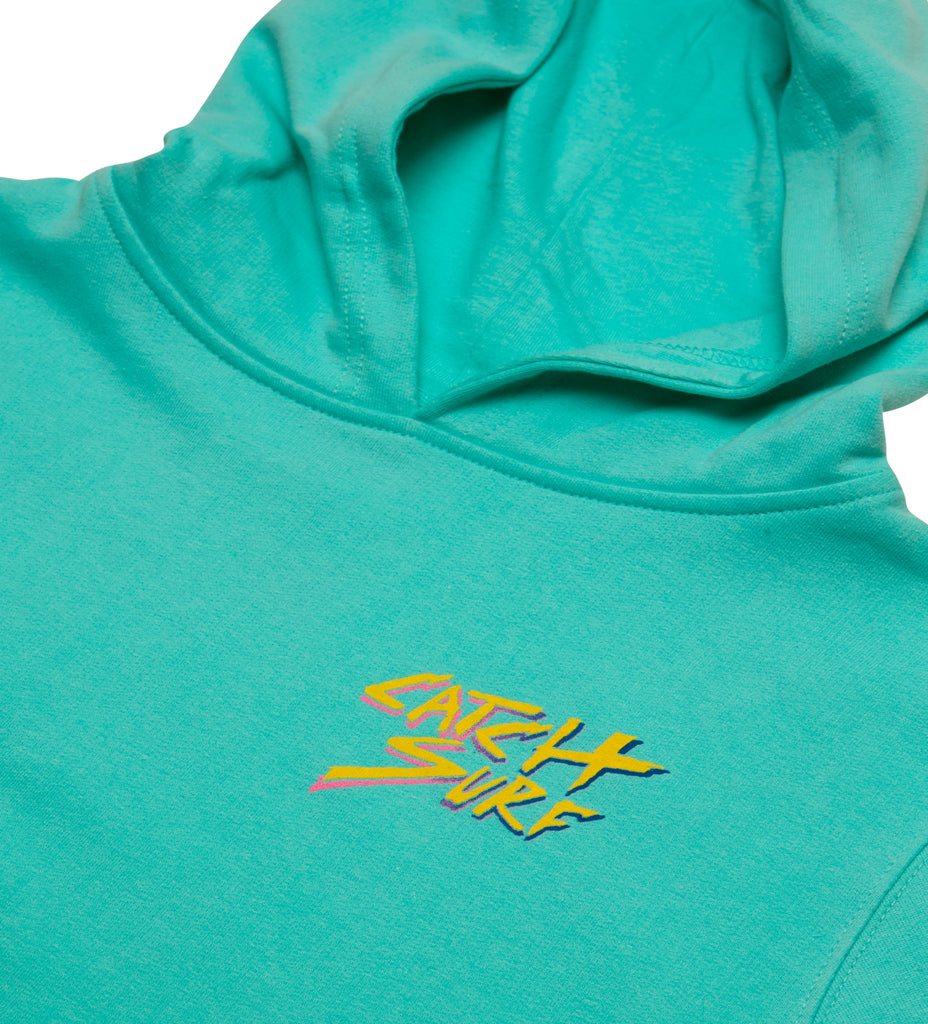 Youth // Classic Slash Pullover Hoodie - Mint