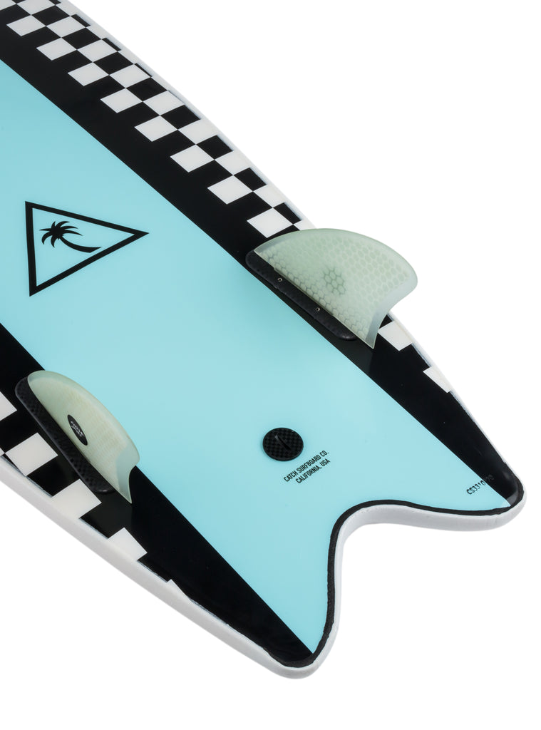 Heritage 5'6'' Retro Fish - Twin Fin