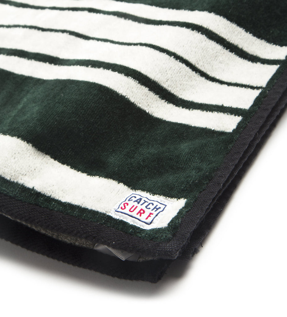 Serape Beach Towel - Green
