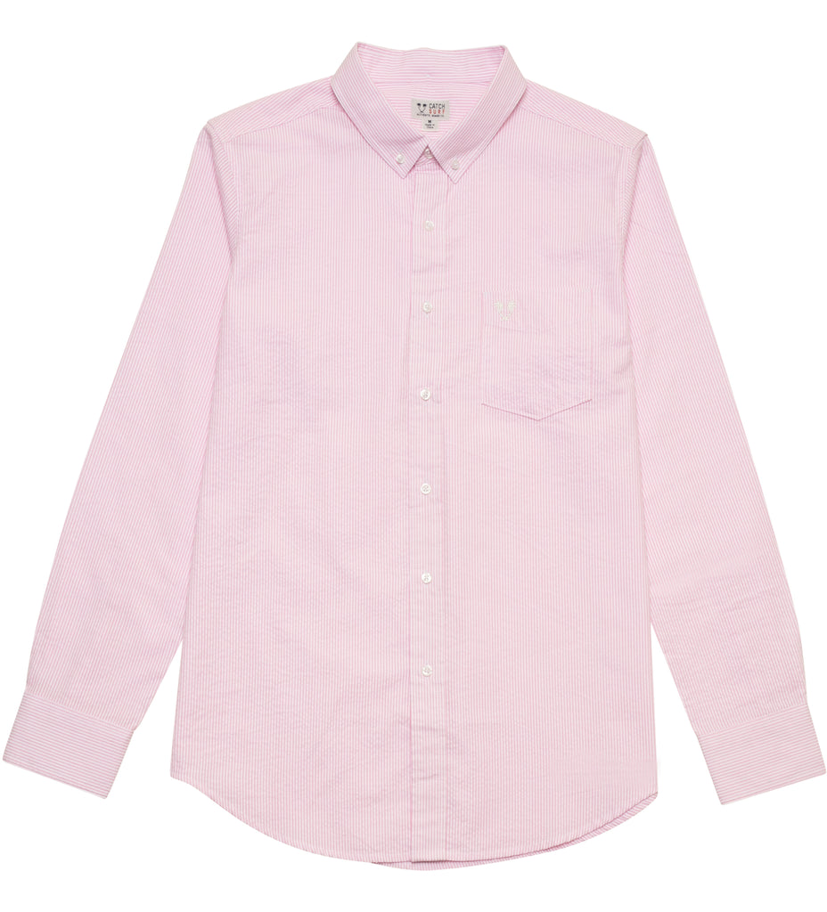 Taylor L/S Woven - Pink