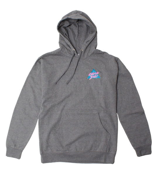 Static Slash Fleece Pullover Hoodie
