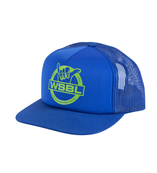 WSBL Trucker Hat - Royal Blue