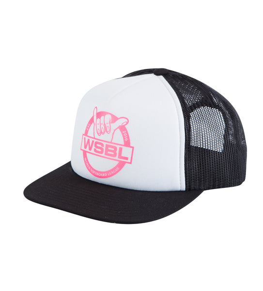 WSBL Trucker Hat - Black/White