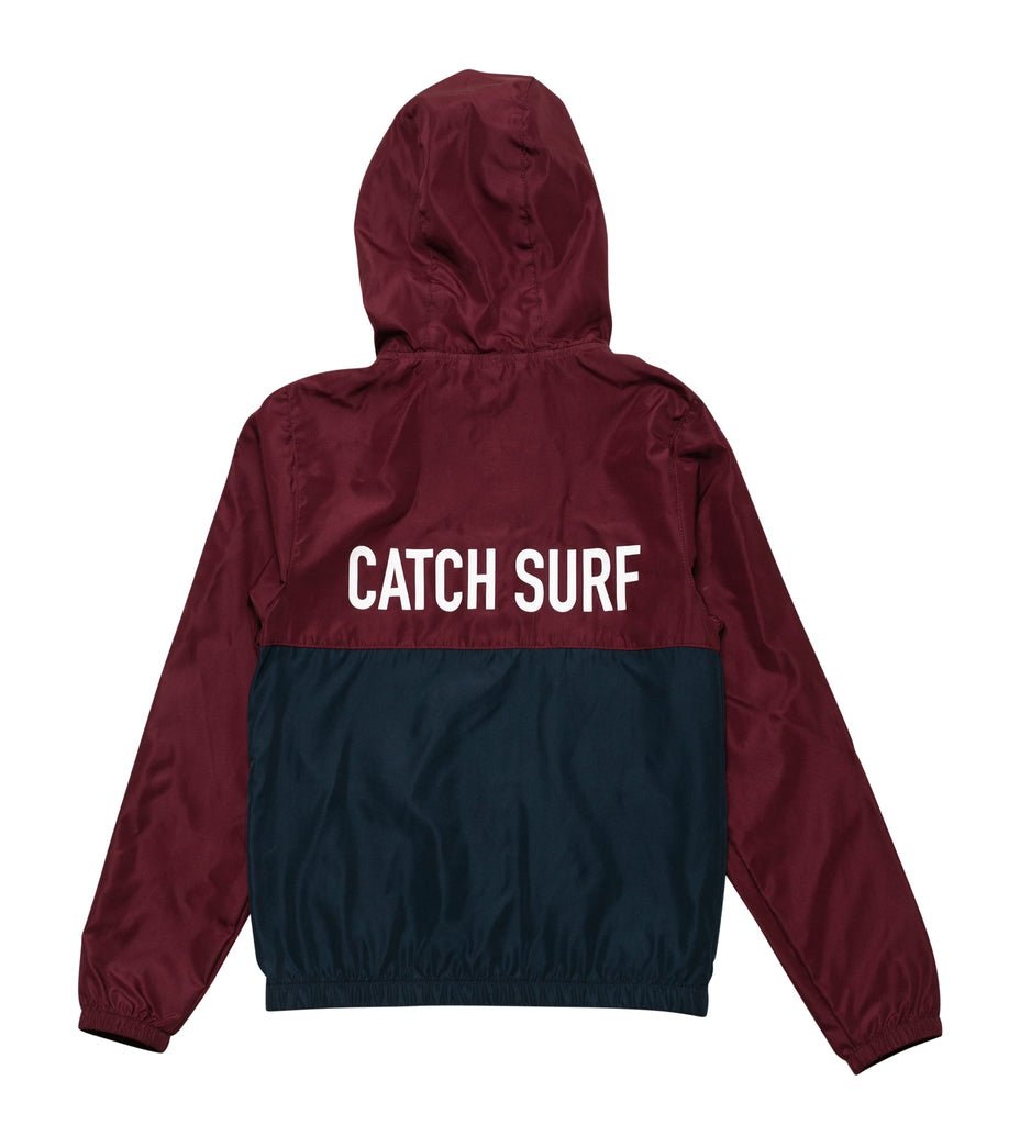 Youth // Dusk Windbreaker - Maroon