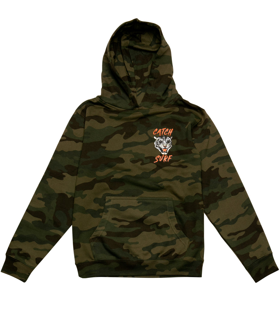 Youth // JOB Fleece Pullover Hoodie - Camo