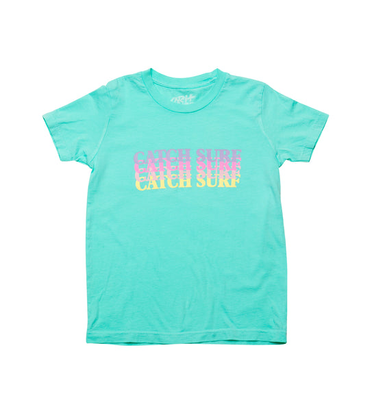 Youth // Catch Surf Fade S/S Tee - Melon