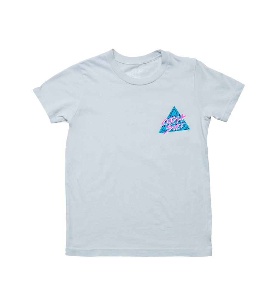 Youth // Static Slash S/S Tee - Grey
