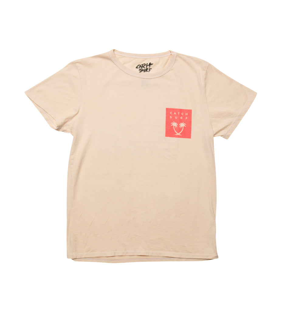 Women's // Pier S/S Tee - Wheat
