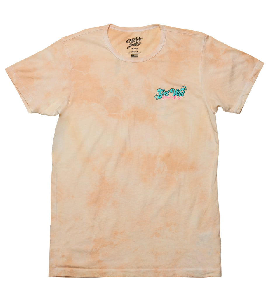 Get Wet S/S Tee - Wheat Tie-Dye