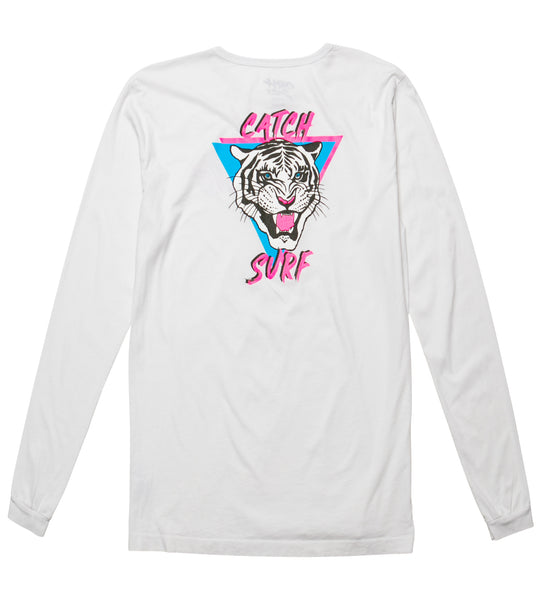 JOB Tiger L/S Tee - White