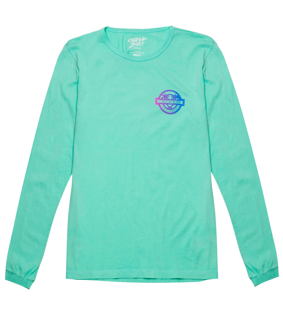 Catch Surf Stamp L/S Tee - Melon