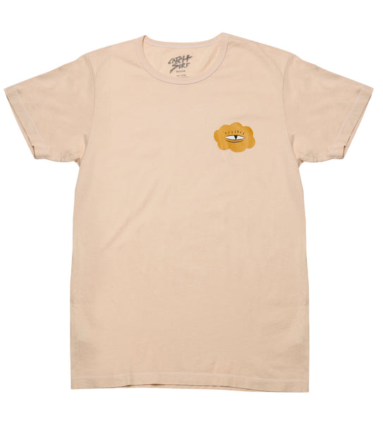Evan Rossell S/S Tee - Wheat