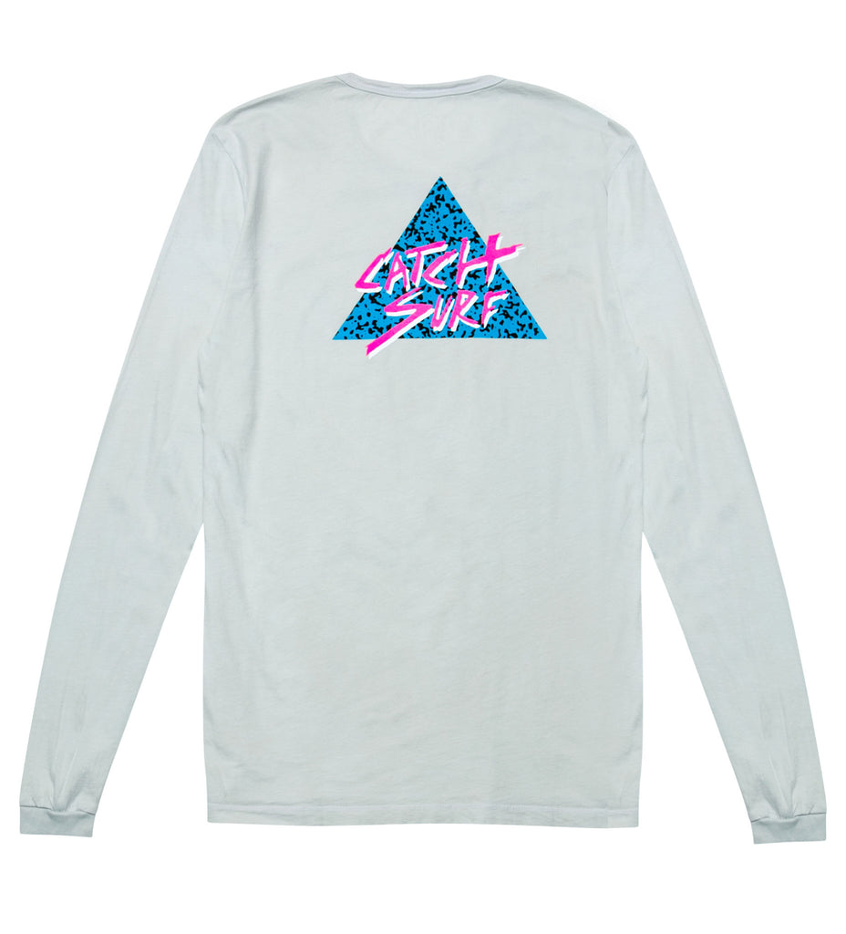 The Static Slash L/S Tee - Grey