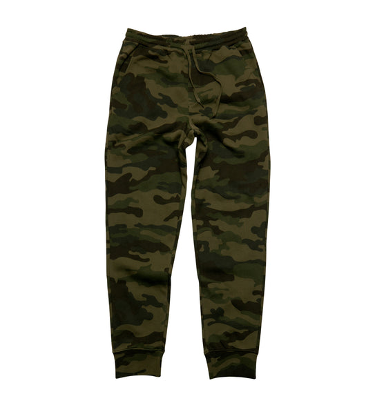 JOB Fleece Sweatpants - Camo