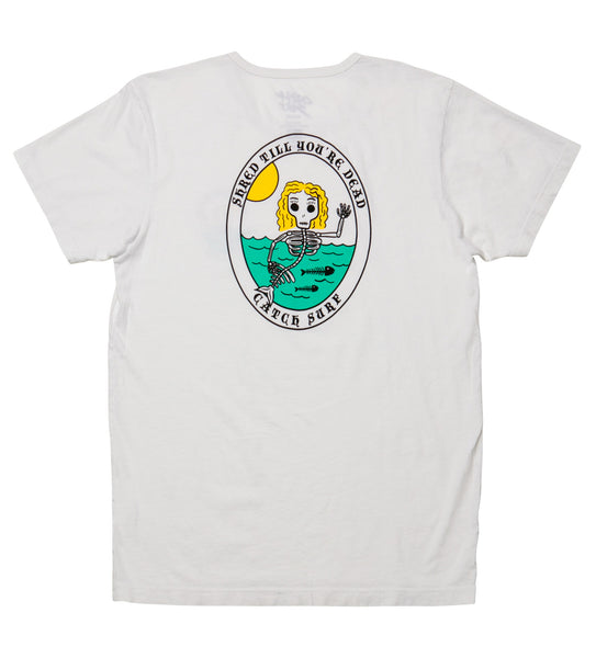 Blair Merman S/S Tee - White