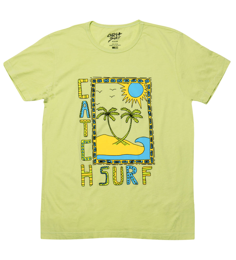 Mirage S/S Tee - Lime