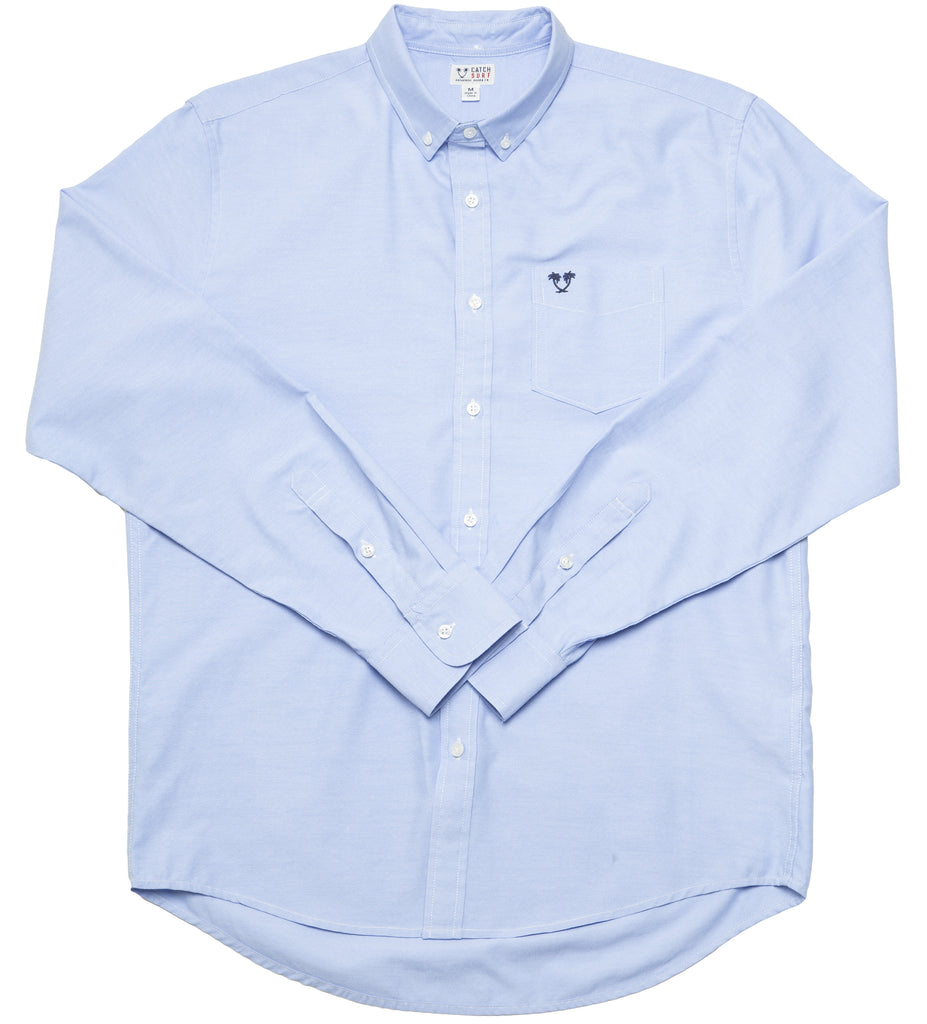 Blair L S Shirt Light Blue Catch Surf Usa