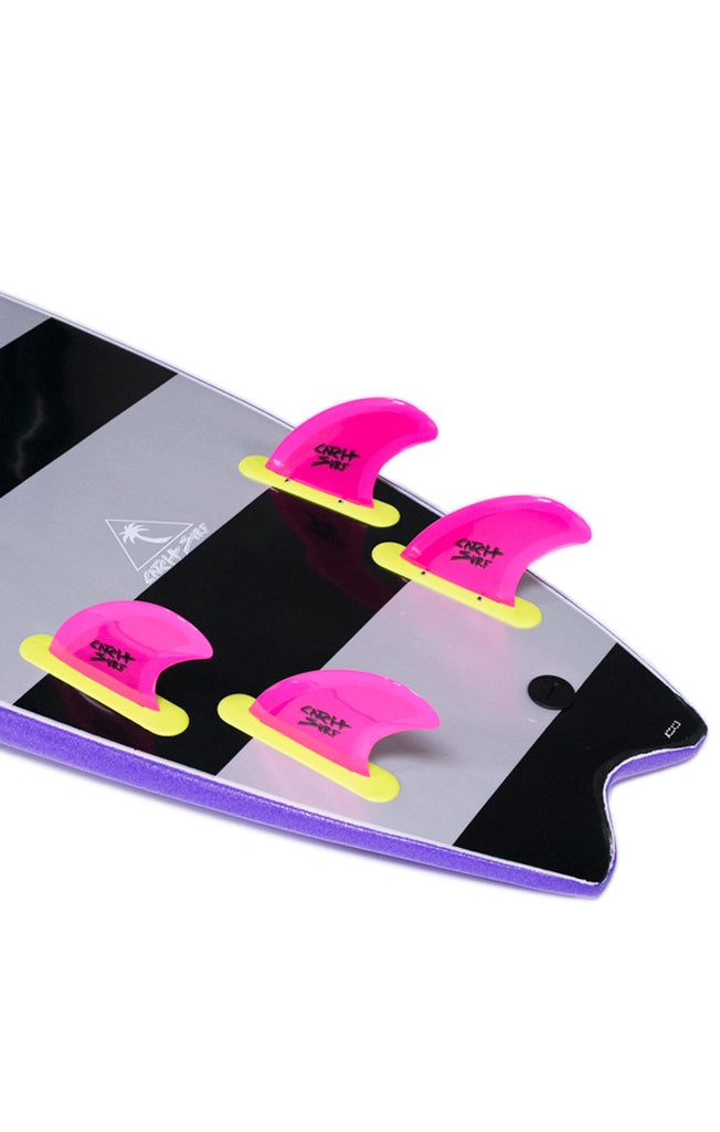 Safety-Edge Quad Fin Set