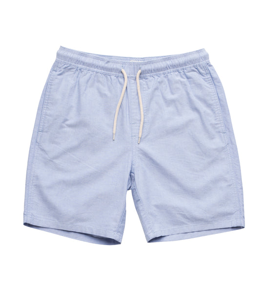 Long Flight Short 19 inch- Blue Oxford