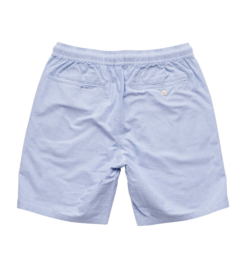 "Long Flight Short (19"") - Blue Oxford"