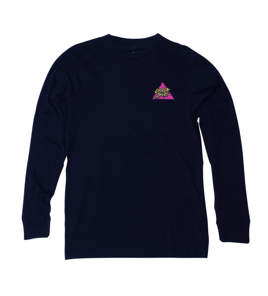 Triangle Slash L/S Tee